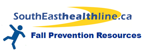 SouthEasthealthline.ca – Fall Prevention Services in Your Region